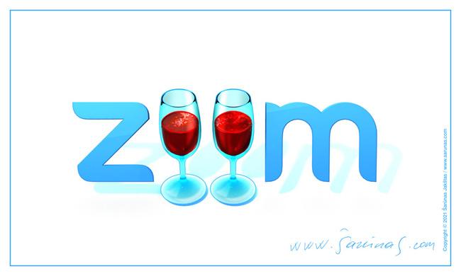 """3 vieta – Jakštas Šarūnas (""""Zoom – vynas suartina"""")."""